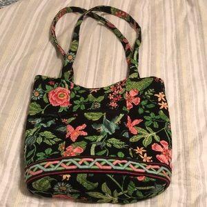 Vera Bradley Exotic Jungle tropical greenery purse